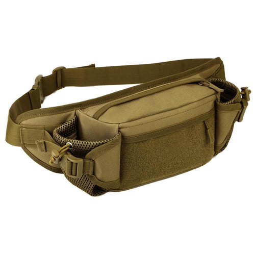 Tactical Waist Bag w/ dual bottle holders