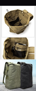 Canvas Military Duffle Rucksack (SM and L)