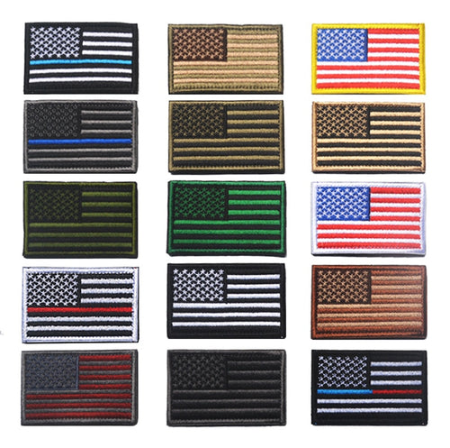 USA Velcro Patches