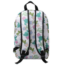 Canvas Cactus Backpack