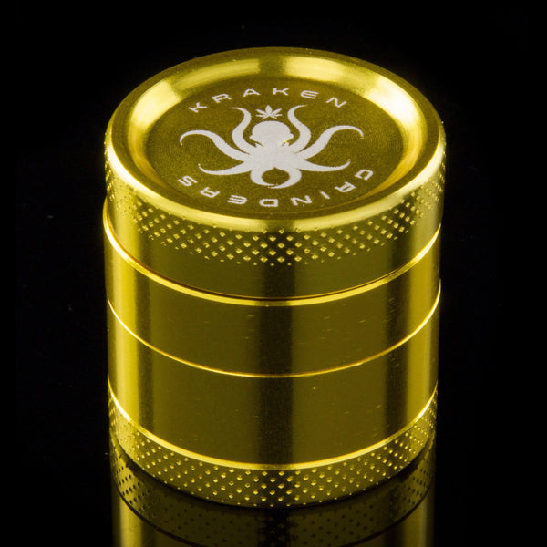 "Kraken Grinders - 1"" Solid Color 4-Part Grinder - THE HIGHLIFERS"