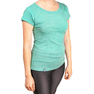 ALPIN LOACKER -  CORESPUN Merinowolle T-Shirt Damen - unser neues Performance Shirt - Alpin Loacker
