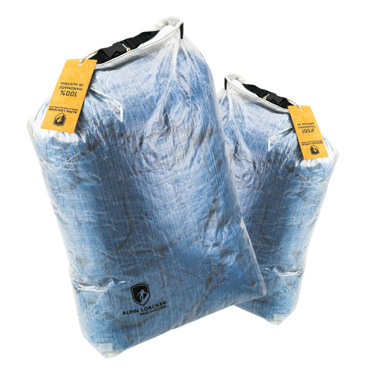 ALPIN LOACKER - Dyneema Drybag - ULTRA leicht, robust, wasserdicht - made in Austria - Alpin Loacker