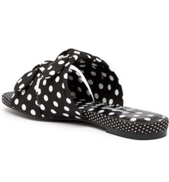 Black White Polka Dot