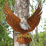 American Bald Eagle Metal Art