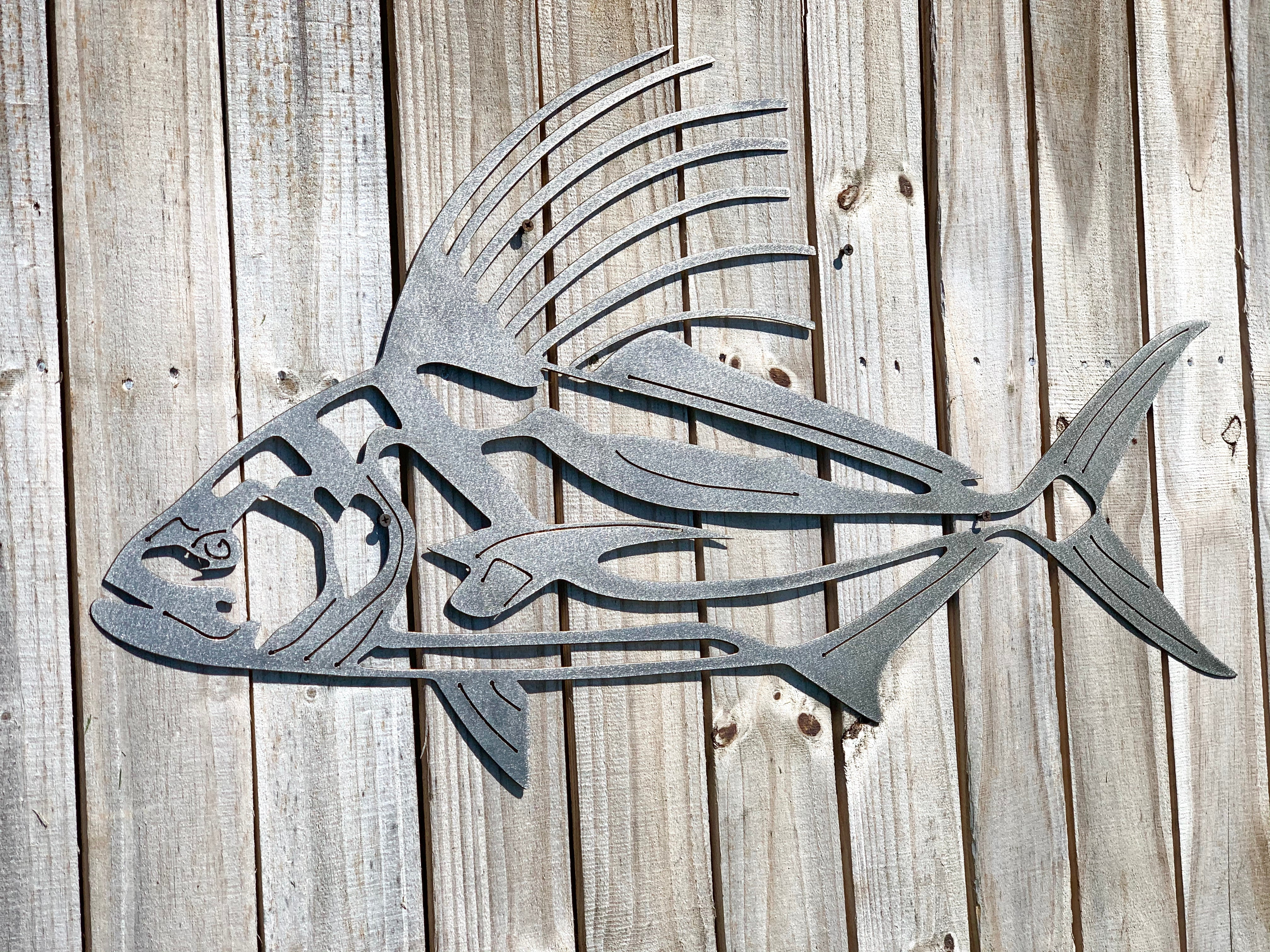 Animal Sign - Rooster Fish
