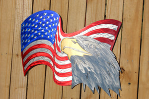 American Flag - With Eagle