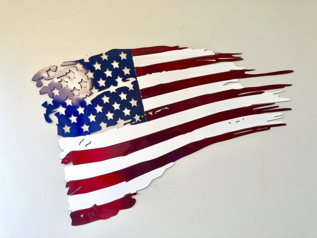 True Color Powder Coated Battle Flag