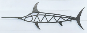 Geometric Swordfish Sign
