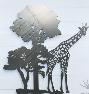 Safari Giraffe Sign