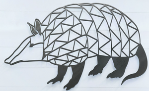 Geometric Armadillo Sign