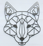 Geometric Fox Sign