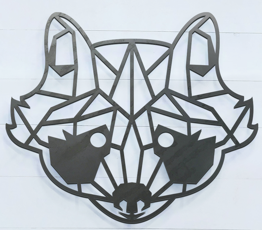 Geometric Raccoon Sign