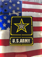 us army metal art
