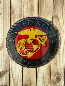 USMC Eagle, Globe, Anchor - Layered Sign