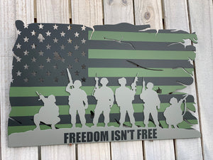 Battle Flag  2.0 - Freedom isn't free