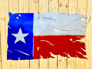Battle Flag - Texas Flag with Raised Star