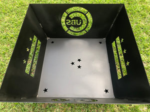 Custom Square Firepit