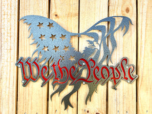 We The People Eagle - Flag