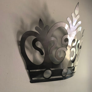 Metal Queen Crown Sign