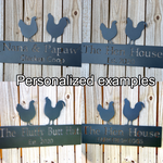 The Hen House Chicken Coop -  Sign
