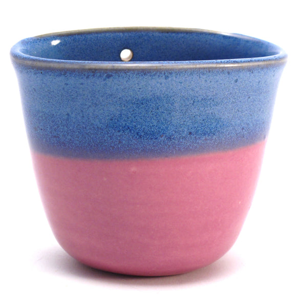 Blue and Lilac Wall Pot SALE