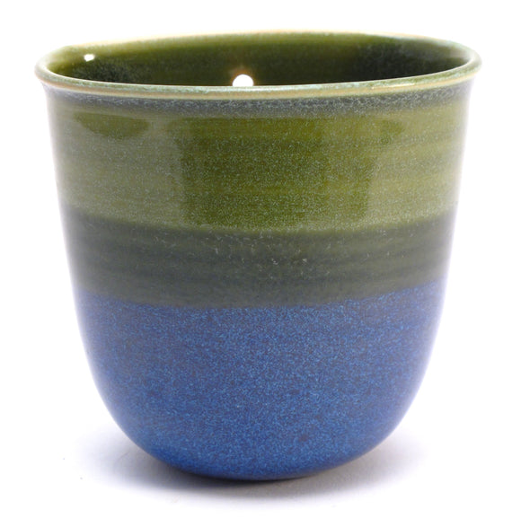 Green and Blue Wall Pot SALE