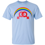 G200 Gildan Ultra Cotton T-Shirt / Rainbow Collection Marraige Equality Women