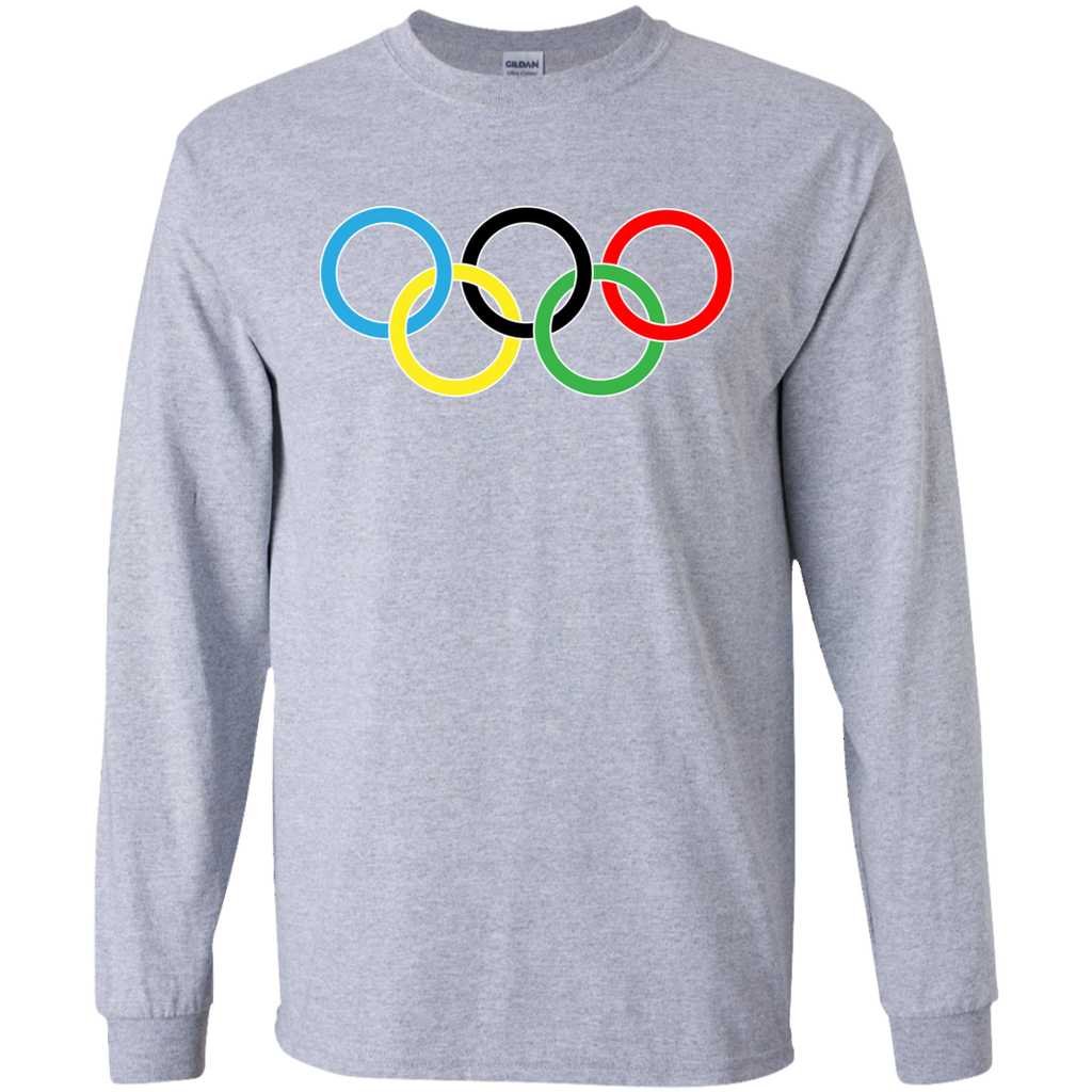 G240 Gildan LS Ultra Cotton T-Shirt / Olympics