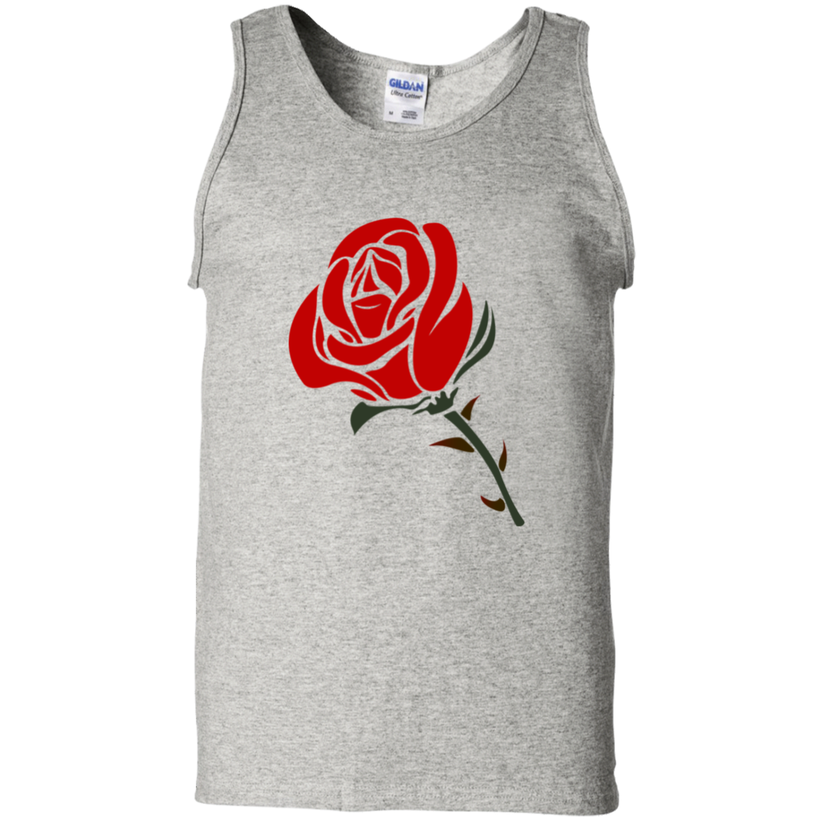 G220 Gildan 100% Cotton Tank Top / Roses