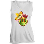 LST352 Sport-Tek Ladies' Sleeveless Moisture Absorbing V-Neck  / Cinco de Mayo