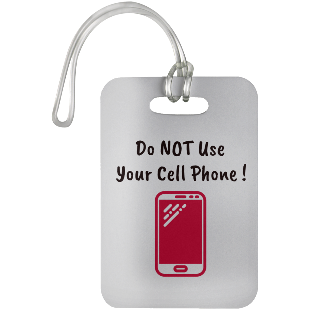 UN5503 Car Dashboard Reminder Tags / Do NOT Use Your Cell Phone ! - ChicDuds