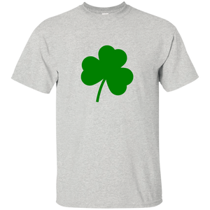 G200 Gildan Ultra Cotton T-Shirt / St. Patrick's Day 4 Leaf Clover