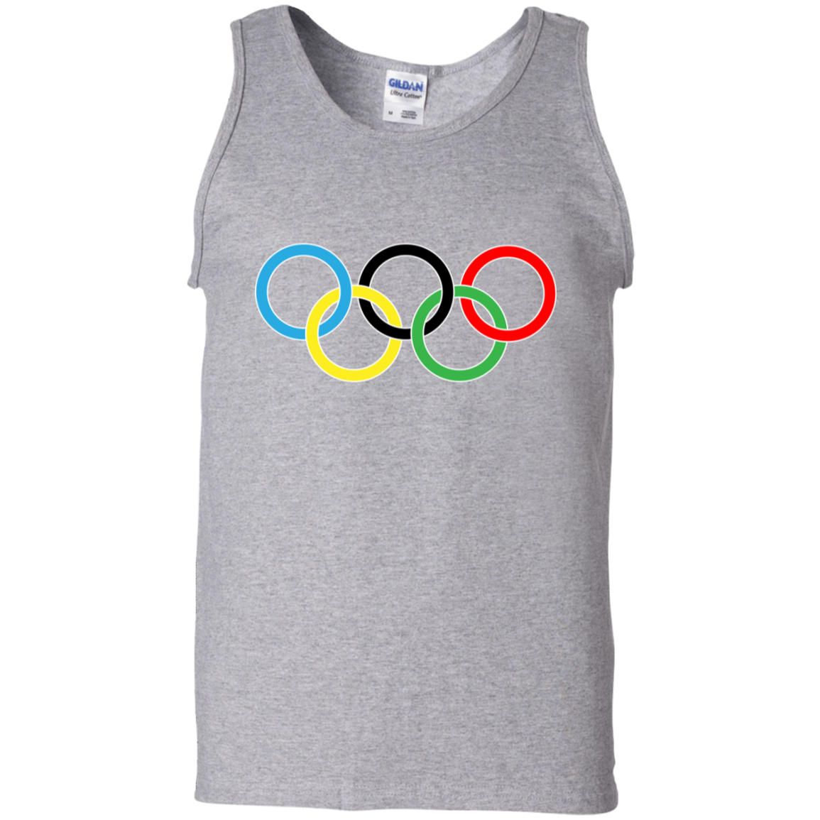 G220 Gildan 100% Cotton Tank Top / Olympics