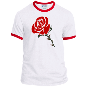 PC54R Port & Co. Ringer Tee / Roses