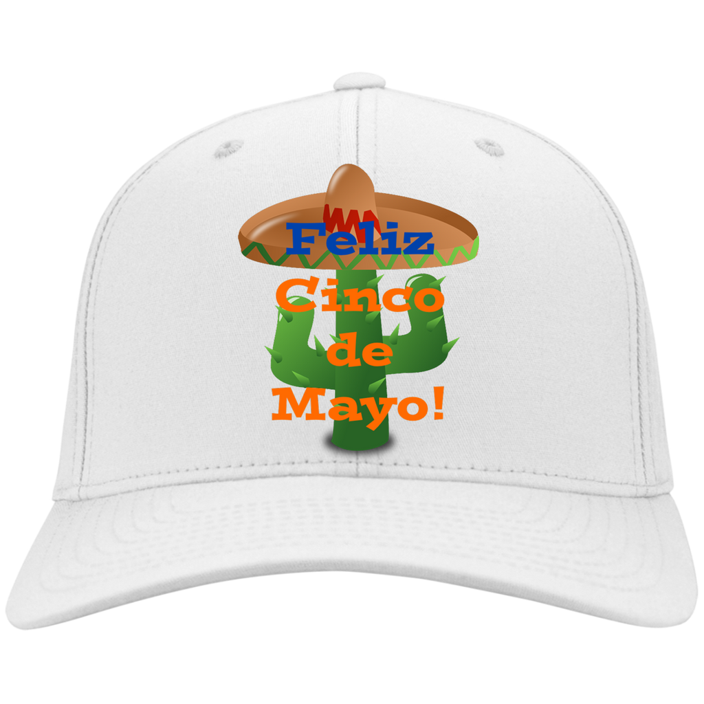 CP80 Port & Co. Twill Cap / Cinco de Mayo Catus