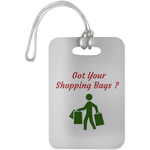 UN5503  Car Dashboard Reminder Tags / Got Your Shopping Bags ? - ChicDuds