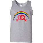 G220 Gildan 100% Cotton Tank Top / Rainbow Collection Marraige Equality Women