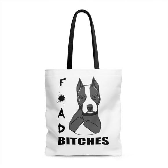 FOAD BITCHES Tote Bag - Metro Pit Trading Co.