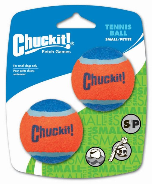 ChuckIt! Small Tennis Balls 2 Pack Dog Toy - Metro Pit Trading Co.