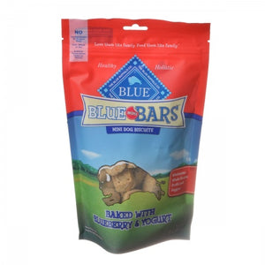 Blue Buffalo Blue Mini Bars Dog Biscuits - Baked with Blueberry & Yogurt - Metro Pit Trading Co.