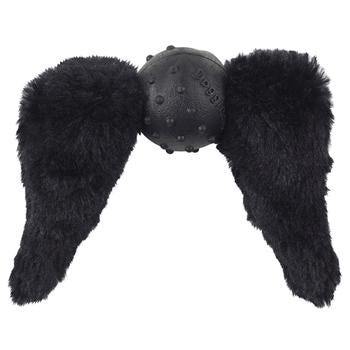 Doggles Mustache Dog Toy - Black Chops - Metro Pit Trading Co.
