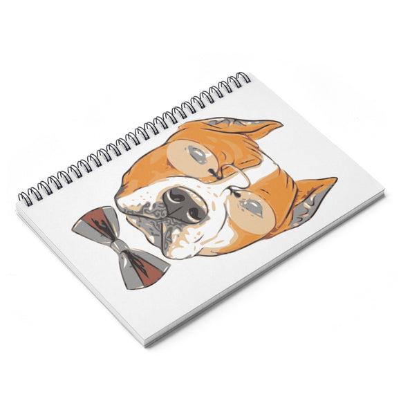 COOL DOG Spiral Notebook - Ruled Line - Metro Pit Trading Co.