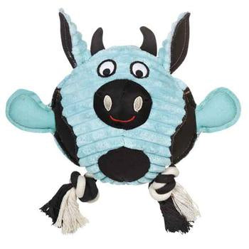 Grriggles Free-Range Friend Dog Toy - Cow - Metro Pit Trading Co.