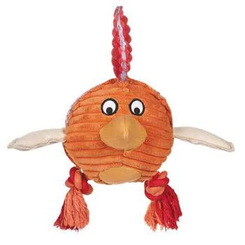 Grriggles Free-Range Friend Dog Toy - Rooster - Metro Pit Trading Co.