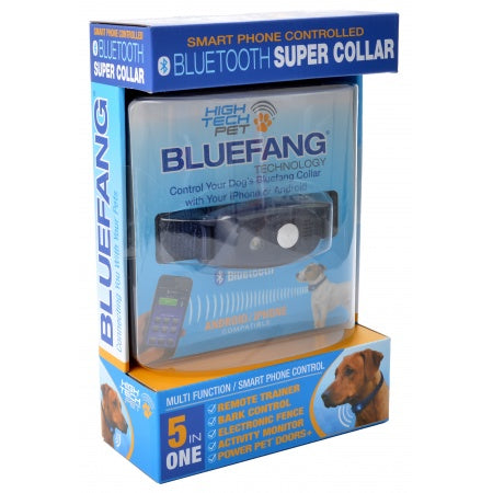 High Tech Pet BlueFang 5-in-1 Super Collar - Metro Pit Trading Co.
