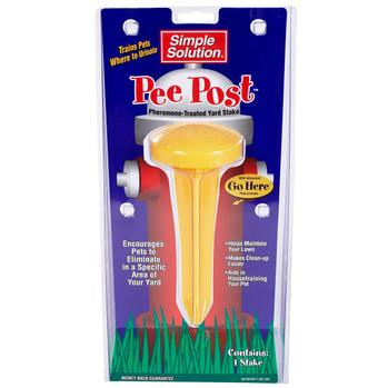 Pee Post Pheromone -Treated Potty Training Yard Stake - Metro Pit Trading Co.