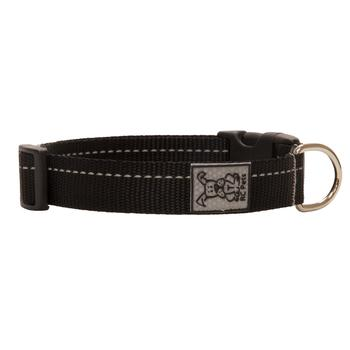 Primary Clip Dog Collar - Black - Metro Pit Trading Co.