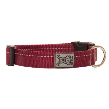 Primary Clip Dog Collar - Burgundy - Metro Pit Trading Co.