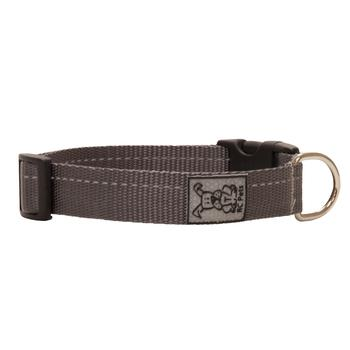Primary Clip Dog Collar - Charcoal - Metro Pit Trading Co.